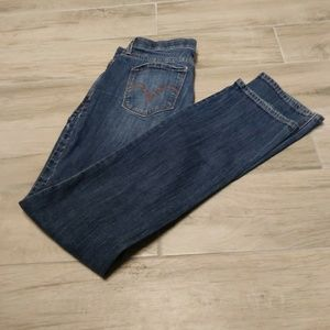 Levi's 525 Perfect Waist Straight Leg Blue Jeans
